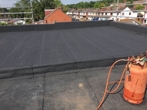 commercial flat roofs nottingham, derby and leicester