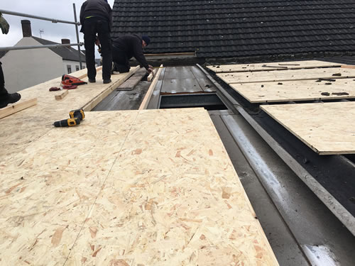 flat roofing and roof repairs nottingham