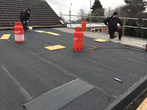 flat roofing and roof repairs derby