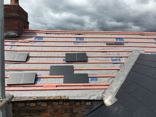 slating nottingham, derby and leicester
