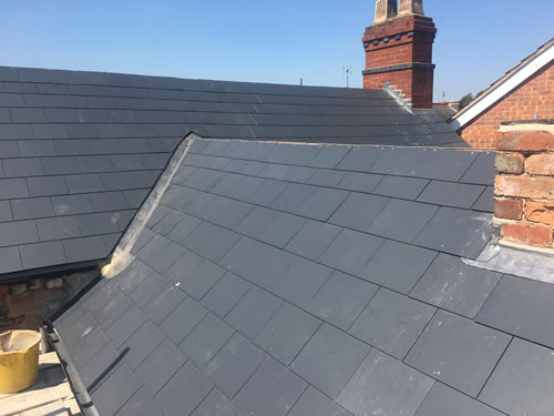 slate and tile repairs nottingham, derby and leicester